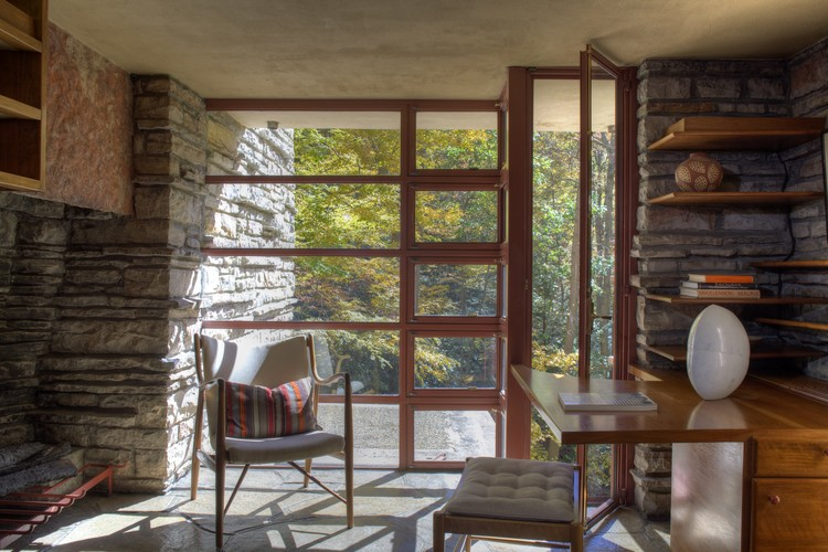 Fallingwater. Image © Christopher Little courtesy of Western Pennsylvania Conservancy