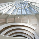 Solomon R Guggenheim Museum. Image © David Heald (c) Solomon R. Guggenheim Foundation