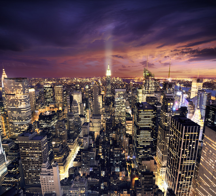 """6 years after Hurricane Sandy, officials have admitted that """"they do not have a plan for protecting much of the financial district"""", according to the New York Times. Image © IM_photo / Shutterstock"""