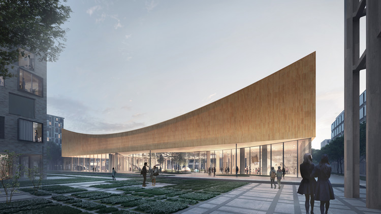 COBE Designs CO2-Neutral Museum for Sweden, Courtesy of COBE