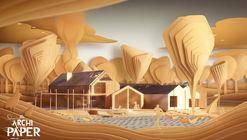 ArchiPaper: A Surrealist Story About Architecture