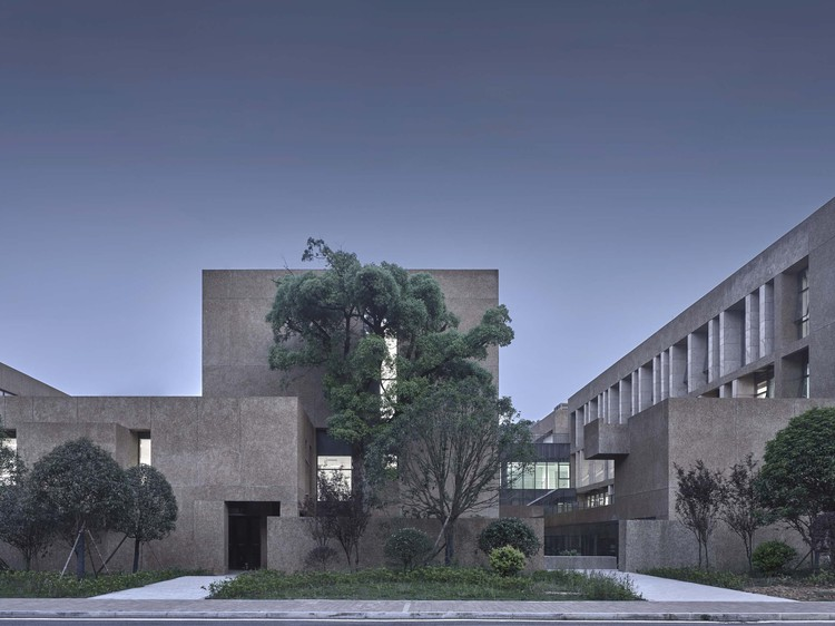 Hunan University Tianma New Campus Complex / WCY Regional Studio, The Graduate School. Image © Digital Photography Studio