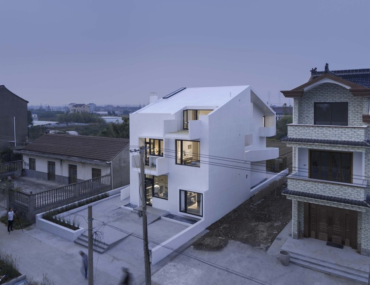 Song House / AZL Architects, exterior view. Image © Li Yao