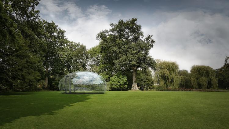 The Droplet Pavilion / Atelier Kristoffer Tejlgaard, © Niels Gammelgaard