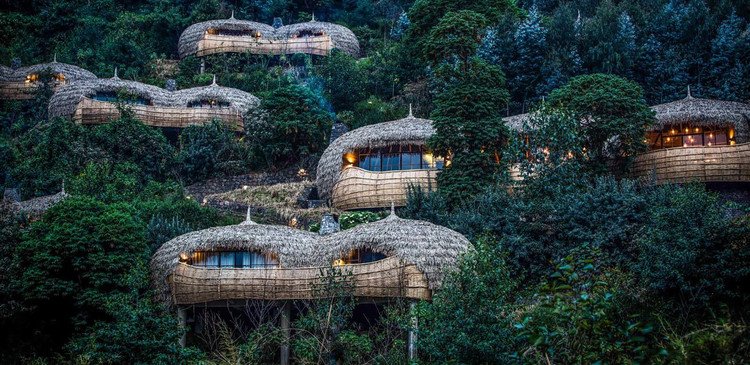 Bisate Lodge / Nicholas Plewman Architects, © Crookes and Jackson