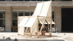Geçit Wooden Pavilion / IEU Faculty of Fine Arts and Design Workshop