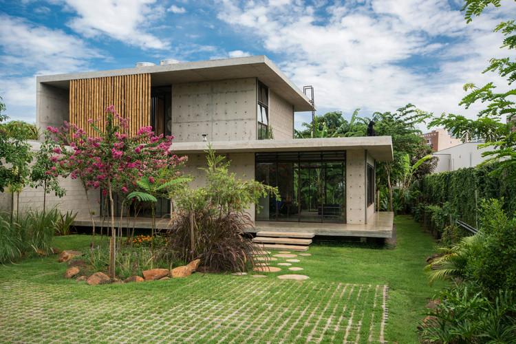 Casa Petro / Fernanda Padula Arquitetura. Imagem: © Carolina Mossin