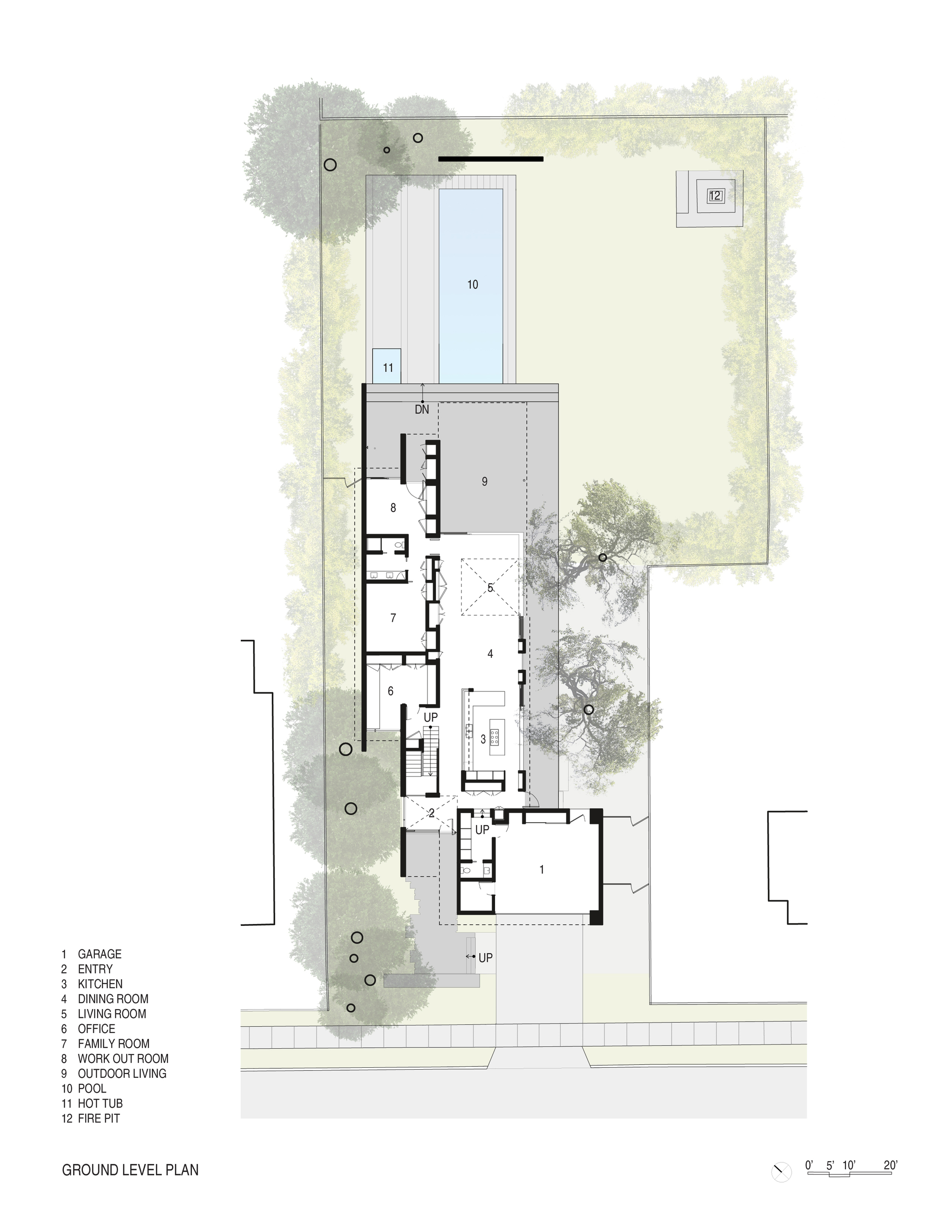 Gallery of Tree House / Aidlin Darling Design - 15 on tree house ladder design, tree house interior design, small house floor design, tree house roof design,