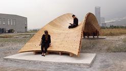 Puente sistema de flexión activa  / Centro de Estudios Superiores de Diseño de Monterrey, CEDIM