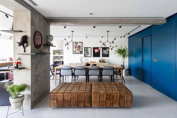 Apartamento Cesar Zama / LVPN Arquitetura + Caco Cruz, © FLAGRANTE / Romullo Baratto Fontenelle