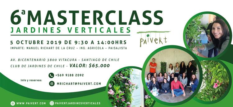 6ª Masterclass Jardines verticales