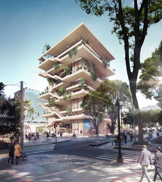 Alejandro Rogelis Arquitectura diseñarán el Centro Felicidad Chapinero en Bogotá, Cortesía de Alejandro Rogelis Arquitectura