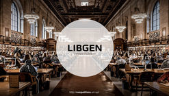 LIBGEN - Towards a new class of evolutionary libraries