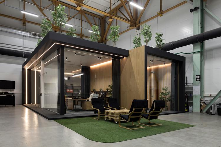 Office for Radioline / Algorithm Bureau, © Dmitru Chebanenko