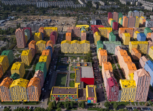 Complejo residencial Comfort Town / archimatika