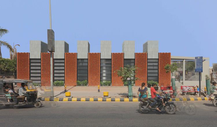 The Spire 2 Sales Pavilion / playball studio, © Dhrupad Shukla, Ronak Gangdev