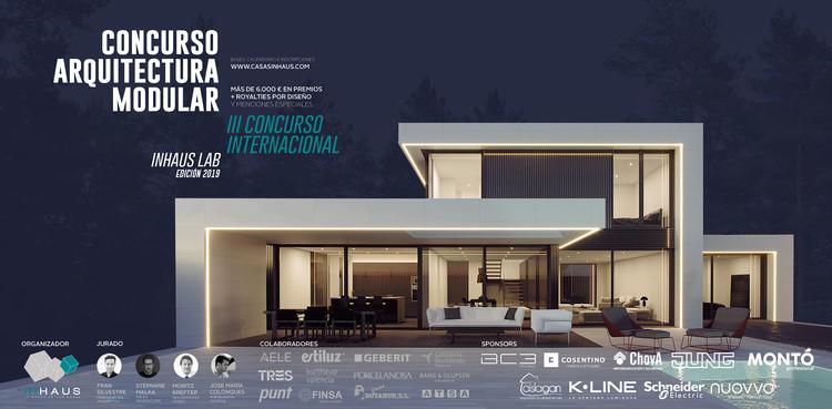 """III Concurso internacional inHAUS LAB: """"Diseña tu casa modular"""" para estudiantes y jóvenes profesionales, Casas inHAUS"""