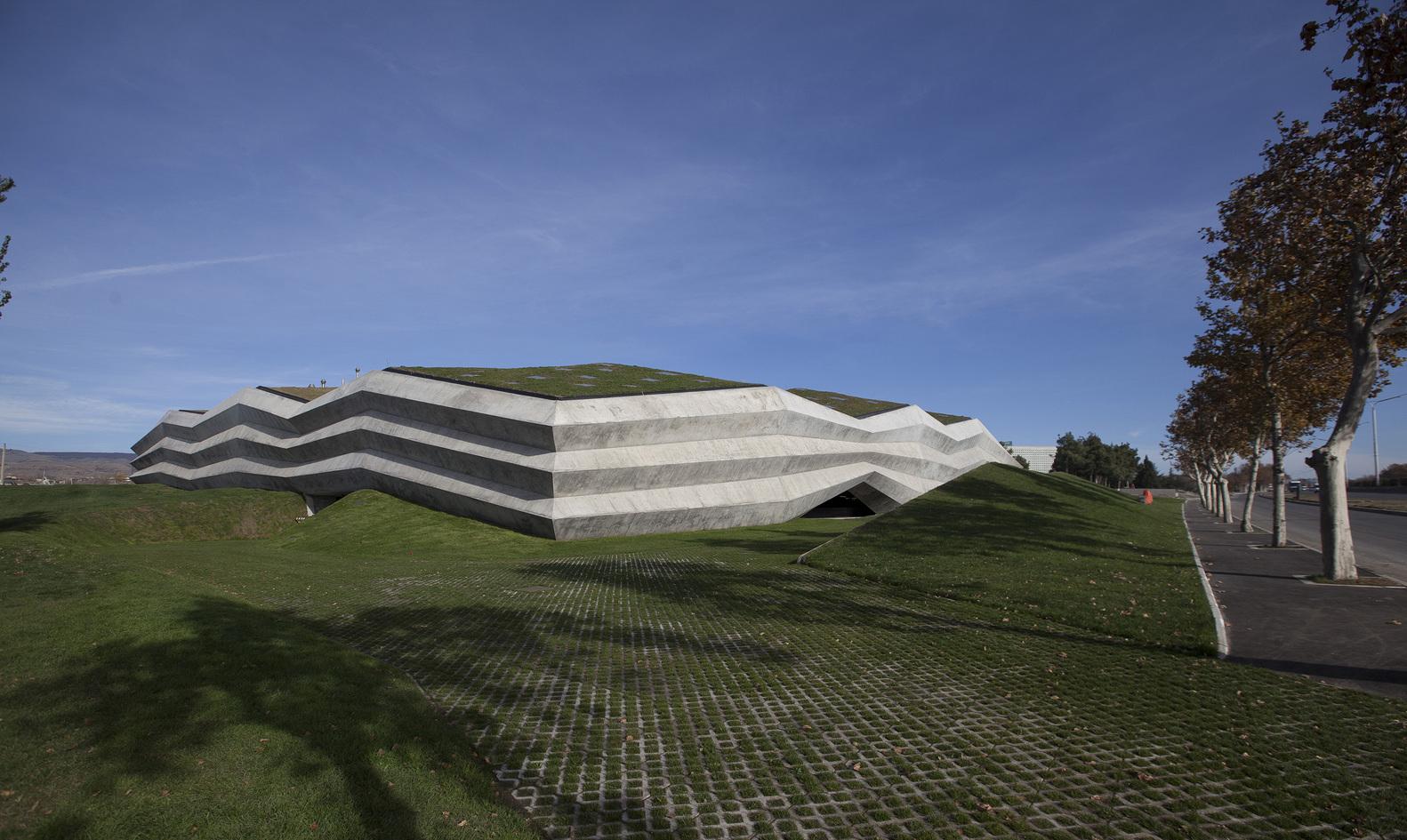 Coffee Production Plant / Khmaladze Architects