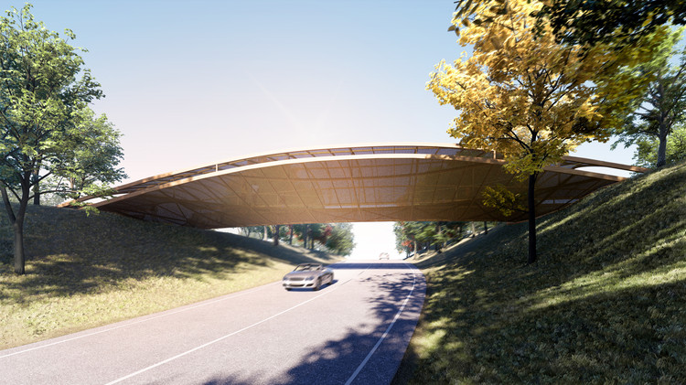 Bee Breeders Announces Winners of the Gauja Footbridge Competition, Courtesy of Bee Breeders