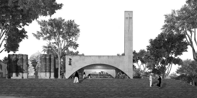 Después del 19S: una capilla contemporánea por Dellekamp / Schleich en colaboración con AGENdA, © Dellekamp Arquitectos