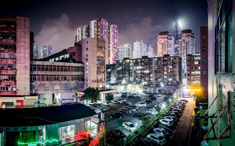 The City To Be Deceived / Geoff Manaugh for the Shenzhen Biennale (UABB) 2019, Skyline of Shenzhen. Image © Anton Strogonoff