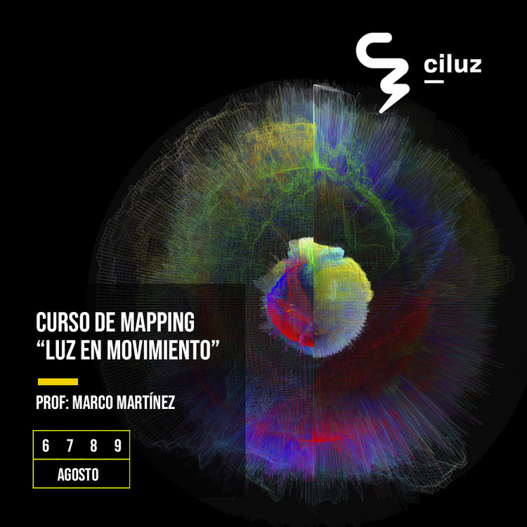Workshop de mapping: luz en movimiento, Marco Martínez