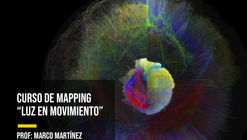 Workshop de mapping: luz en movimiento