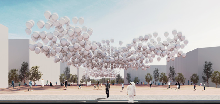 Superspace Designs Energy-Harvesting Balloons for Abu Dhabi, © Superspace