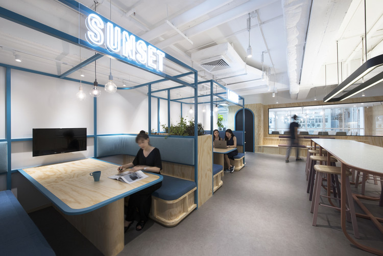 Layered Frames Workplace / Bean Buro, © Bean Buro