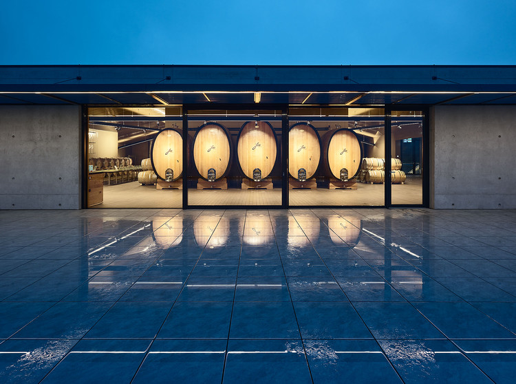 Wine Cellar Dockner / goebl architecture, © Bruno Klomfar