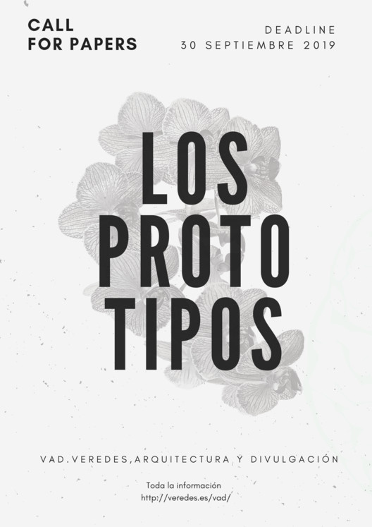 "Revista VAD 02: Convocatoria de Papers para ""Los prototipos"""