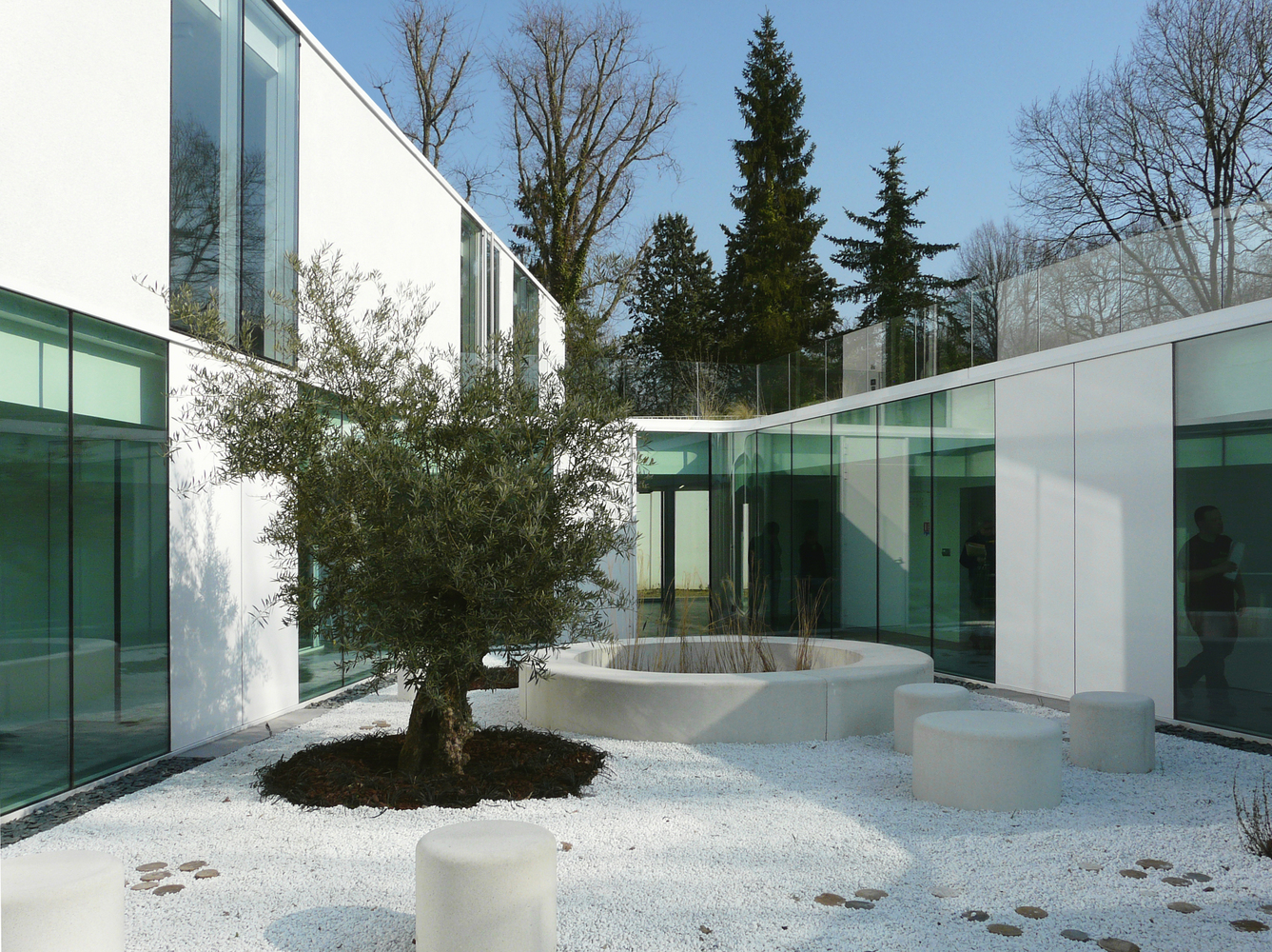 Architecte Bures Sur Yvette child psychiatry hospitalization building of 12 beds in