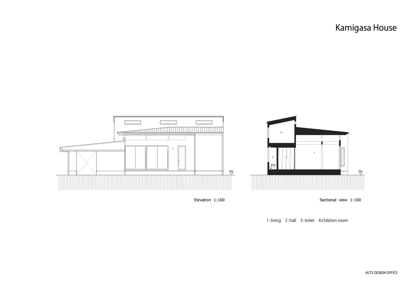 Gallery Of Kamikasa House Alts Design Office 41