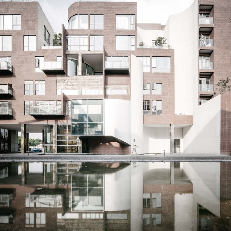 Shenyao Art Centre (Phase II) / Atelier Liu Yuyang Architects, east facade. Image © Siyu Zhu