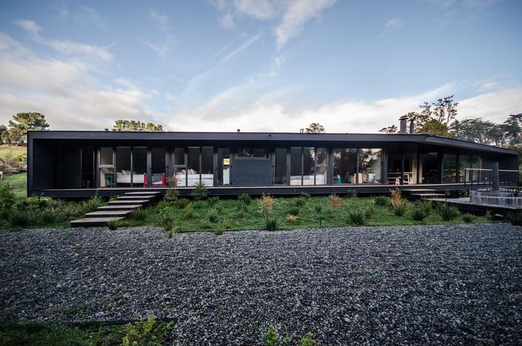 BJ House / Estudio Alinea + Cristóbal Lamarca, © Esteban Arteaga