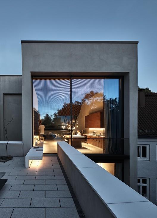 Townhouse Palmaille 98 / Walter Gebhardt   Architekt