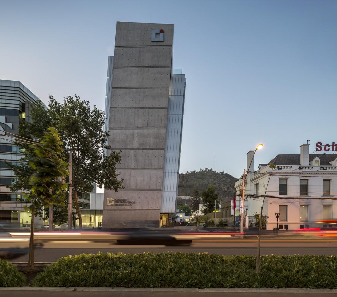 Sede Colegio de Ingenieros de Chile / Gubbins Arquitectos