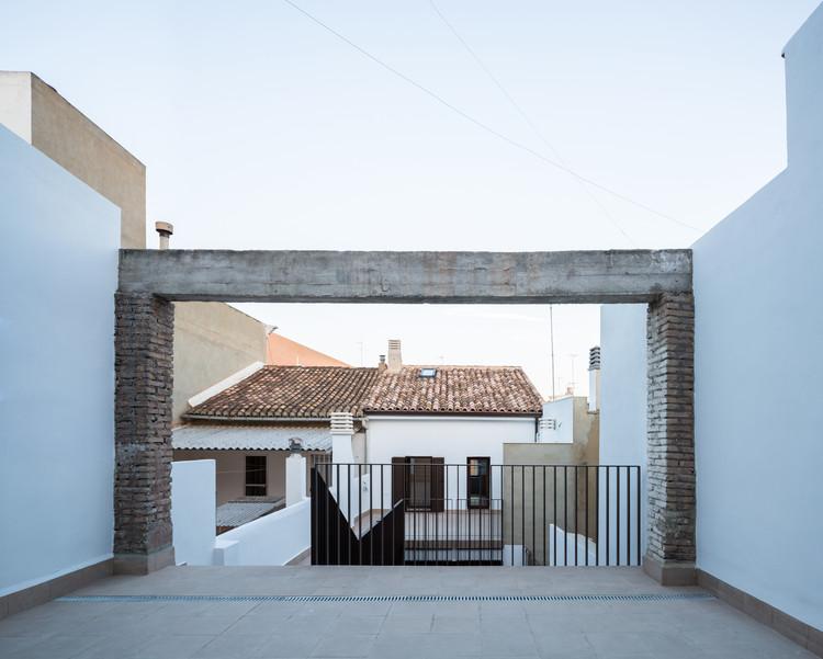 Casa impluvium / CU4 Arquitectura, © Daniel Rueda