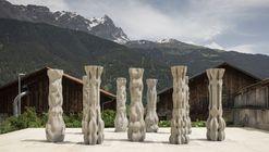 ETH Zurich desenvolve novo método de impressão 3D para colunas de concreto