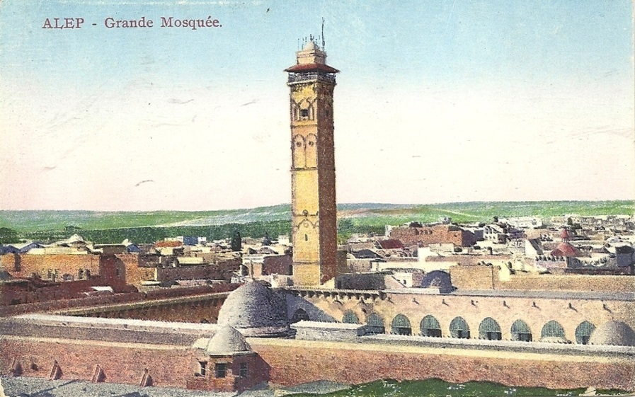 The Great Umayyad Mosque of Aleppo: from Historic Islamic Monument to War Battlefield,Courtesy of Wikimedia Commons