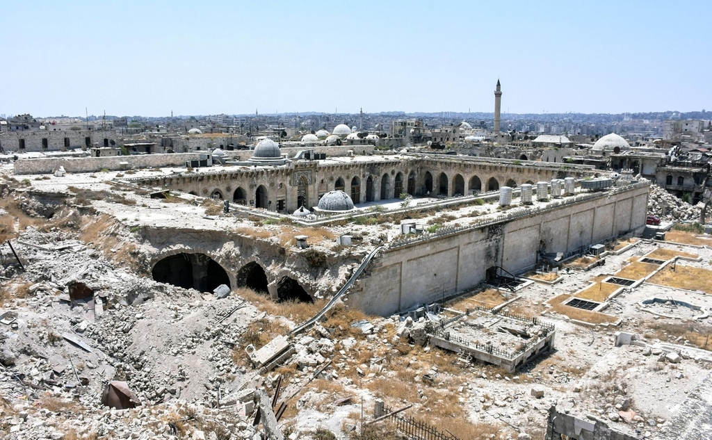 The Great Umayyad Mosque of Aleppo: from Historic Islamic Monument to War Battlefield,© George Ourfalian / AFP