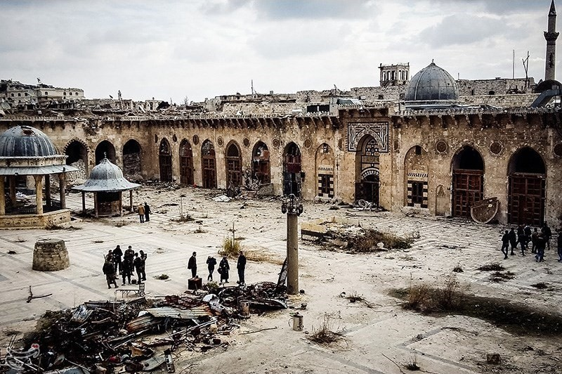 Gallery of The Great Umayyad Mosque of Aleppo: from Historic