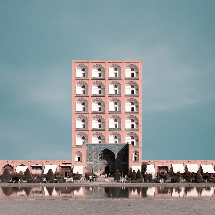 Traditional Iranian Monuments Reimagined as High-Rise Buildings, © Mohammad Hassan Forouzanfar