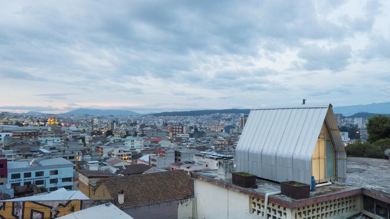 Casa parásito / El Sindicato Arquitectura