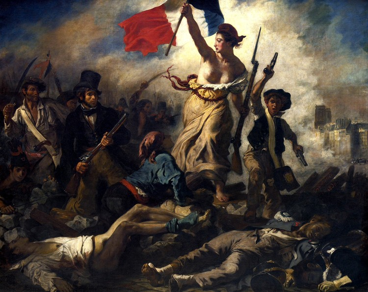 "How to Write an Architectural Manifesto, Liberty Leading the People"" by Eugène Delacroix, via Wikipedia Commons"