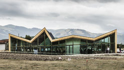 Multipurpose and Civil Protection Center of Norcia / Stefano Boeri Architetti