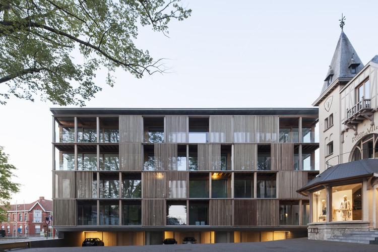 Shutterflats Apartment Building / Delmulle Delmulle Architecten, © Johnny Umans