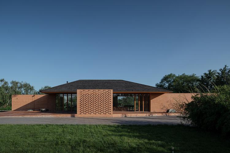 Casa Pátio / ARCHSTUDIO, Fachada - Imagem de  © Ning Wang