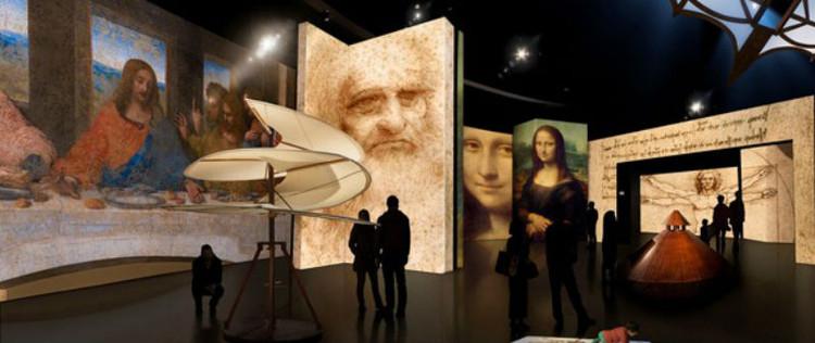 """Novo MIS inaugura com exposição sobre Leonardo da Vinci em São Paulo, Exposição """"Leonardo da Vinci - 500 anos"""". Imagem cortesia de Canada Science and Technology Museum"""