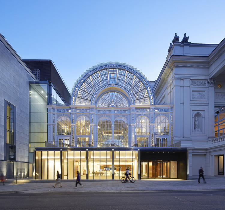 Royal Opera House / Stanton Williams, © Hufton+Crow
